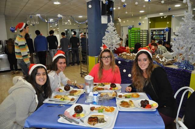 Cena Navidad - Colegio Mayor Ausias March -