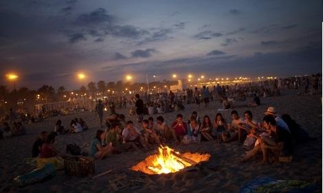 celebrar la Noche de San Juan 2015