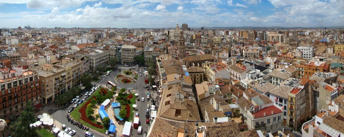 Valencia- vista aerea