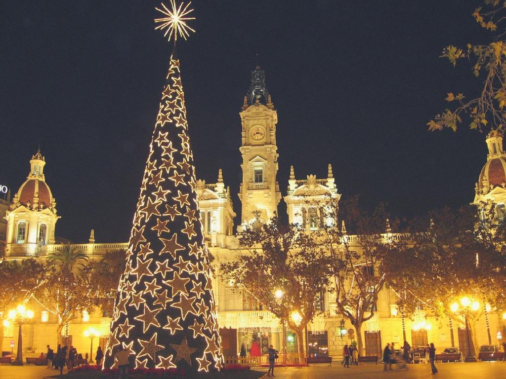 Planes Navidad 2017 En Valencia Colegio Mayor Ausias March ~ Mercadillos Navideños En Valencia