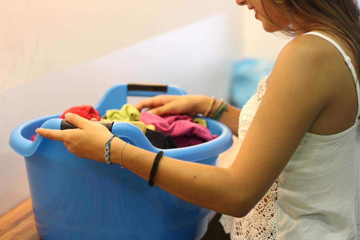 Lavandería en residencia estudiantes Valencia