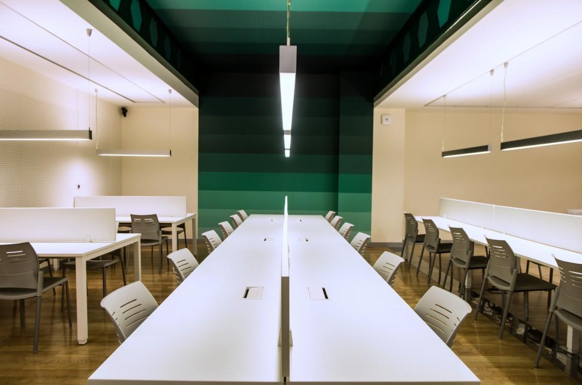 Sala de estudios en tu residencia universitaria en Valencia