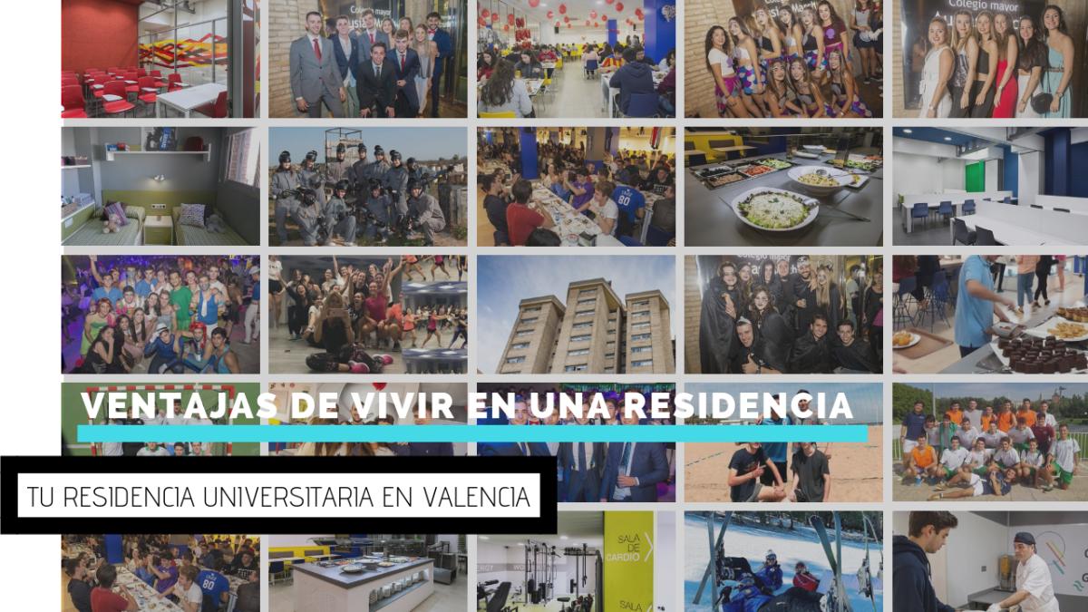 Ventajas de vivir en una residencia universitaria en Valencia