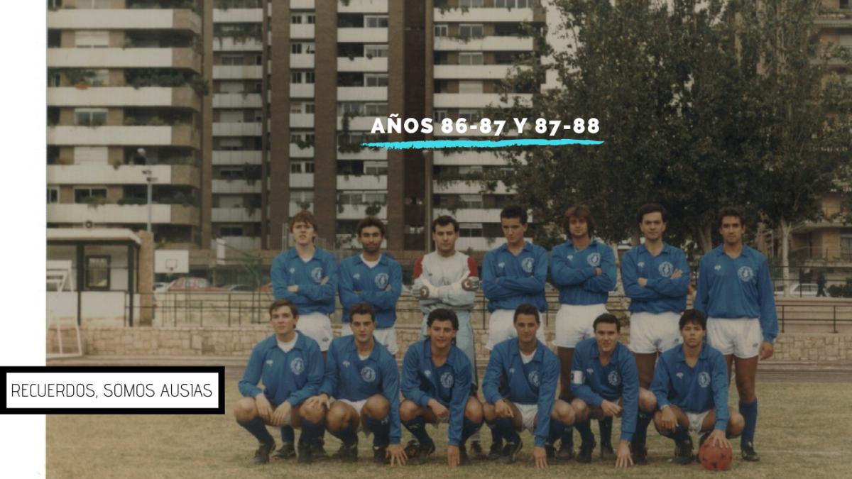 Recuerdos inolvidables de los años 86-87 y 87-88 #SomosAusias