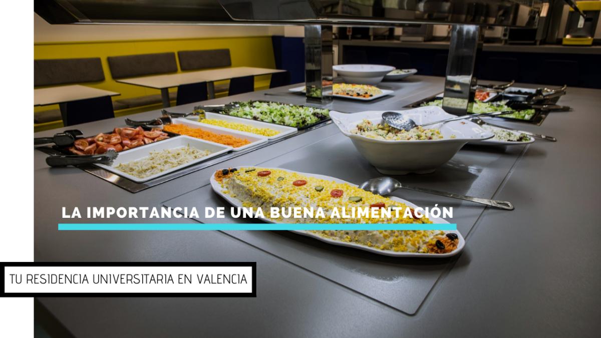 ¿Por qué es importante comer bien en tu residencia universitaria?