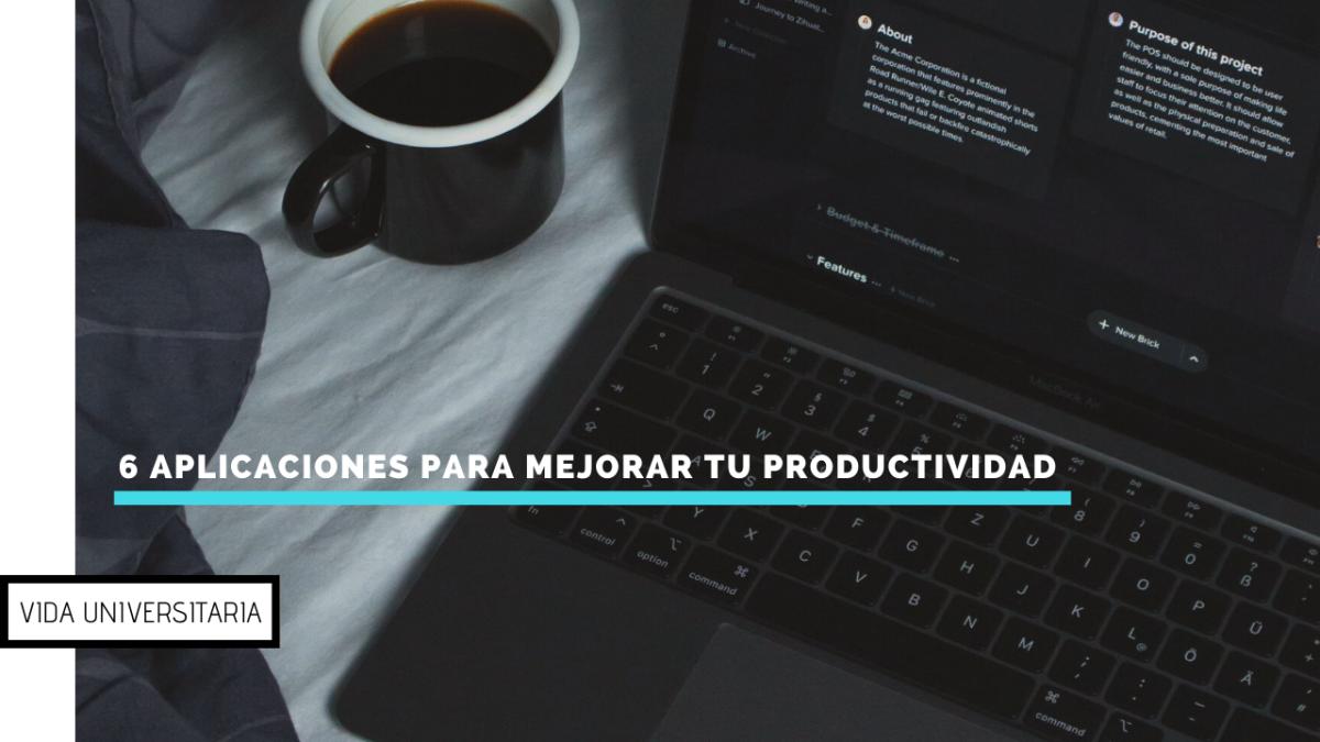 6 aplicaciones para mejorar tu productividad