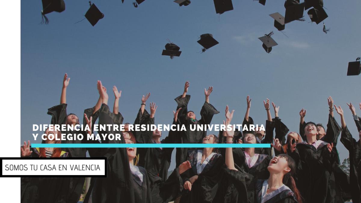 Diferencia entre Residencia Universitaria y Colegio Mayor